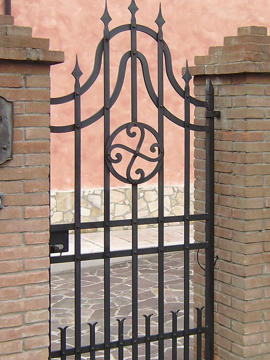 cancello singolo