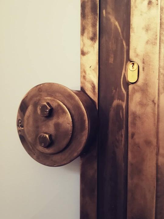 porta interna in ferro