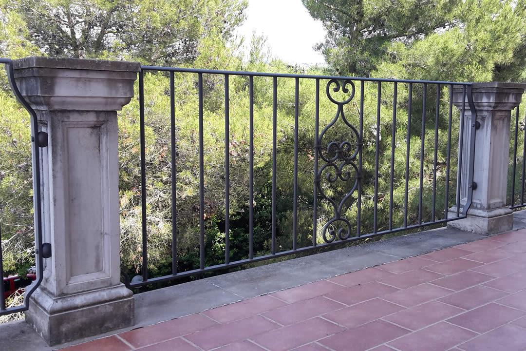 ringhiera per balcone